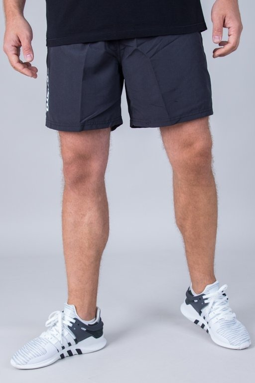 PROSTO SWIMSHORTS TROPICAL BLACK
