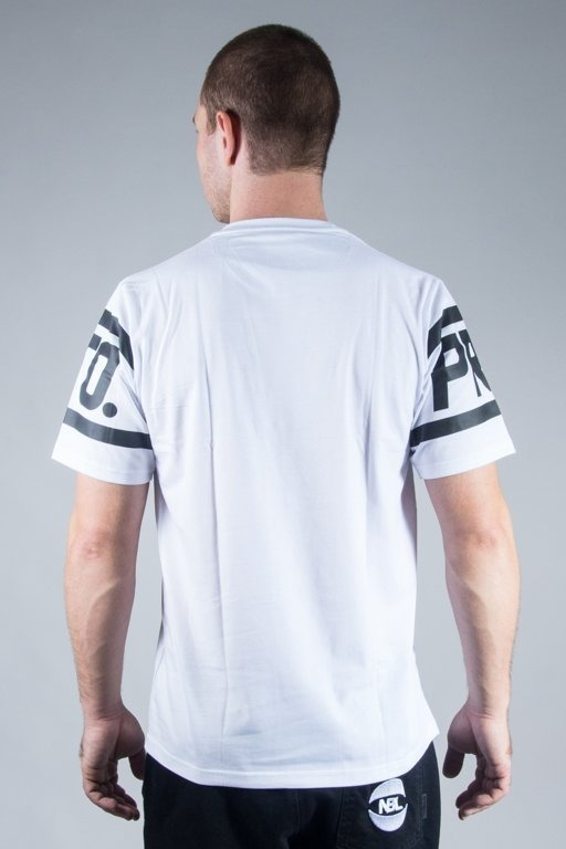 PROSTO T-SHIRT ARMED WHITE