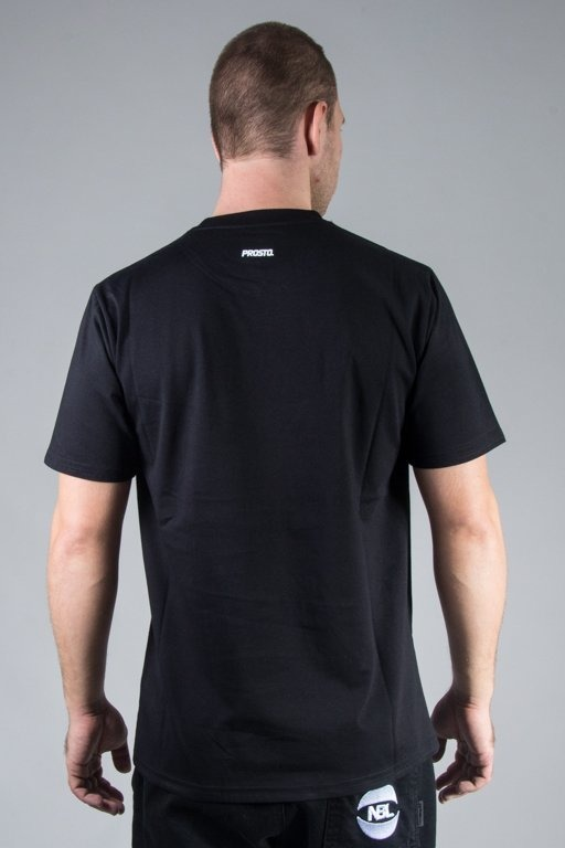 PROSTO T-SHIRT AROUND BLACK
