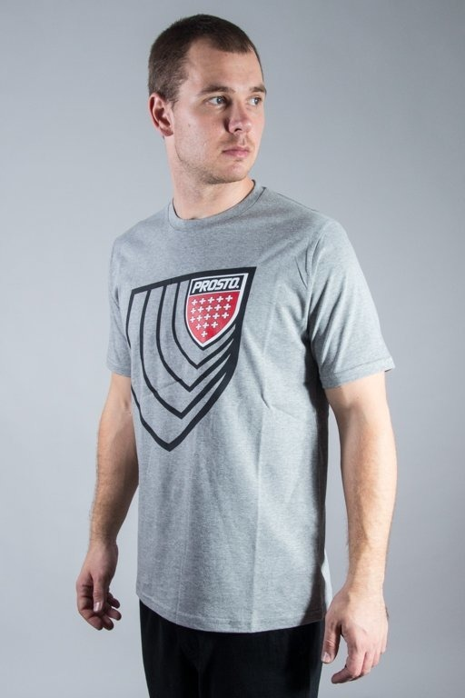 PROSTO T-SHIRT DIMENSION GREY
