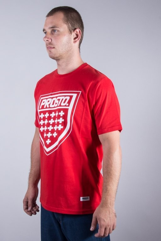 PROSTO T-SHIRT KLASYK RED