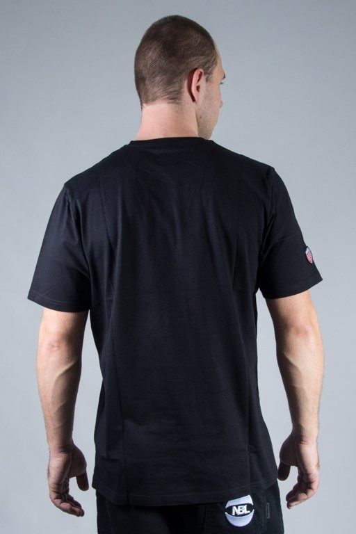 PROSTO T-SHIRT NET BLACK