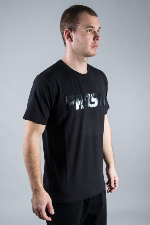 PROSTO T-SHIRT PRO BASIC STEEL BLACK