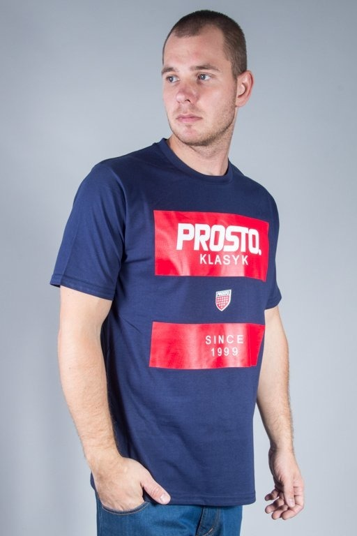 PROSTO T-SHIRT STRIPES NAVY