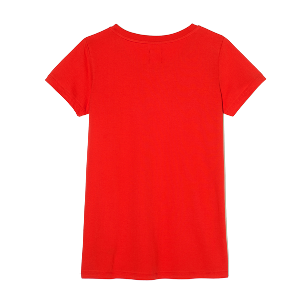 PROSTO T-SHIRT WOMAN AERO RED