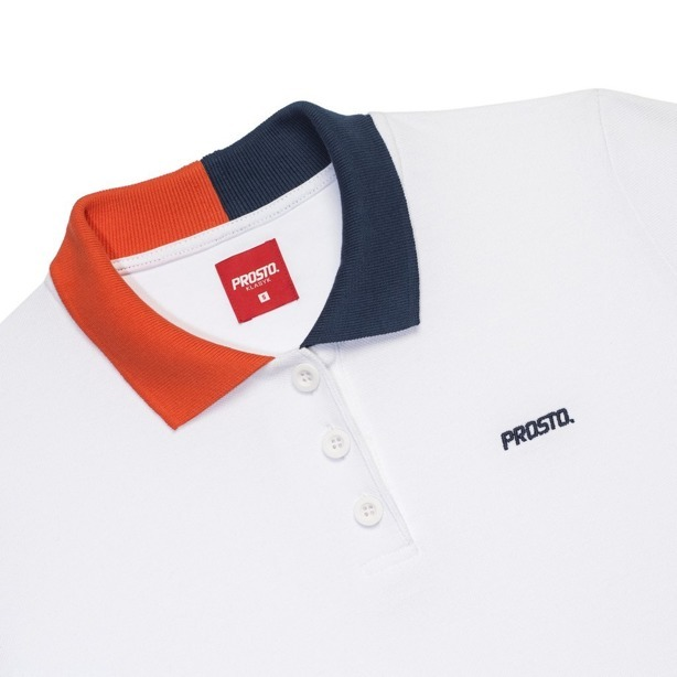 PROSTO T-SHIRT WOMAN PRICE POLO WHITE