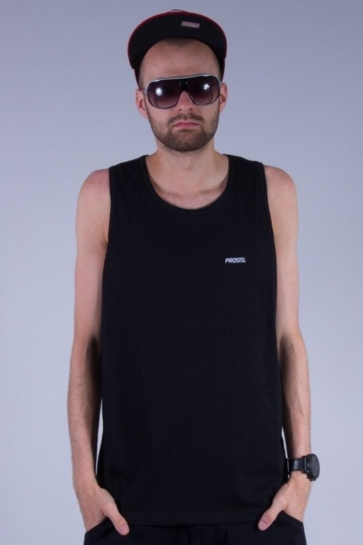 PROSTO TANK TOP BASIC BLACK