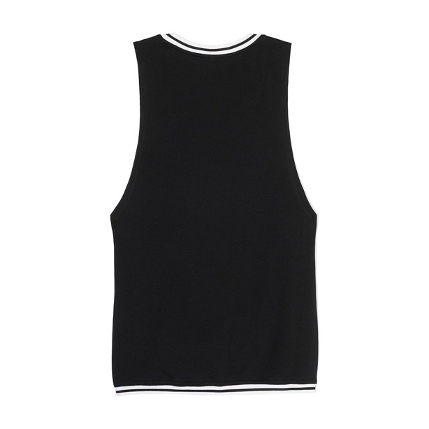 PROSTO TANK TOP WOMAN GYM BLACK