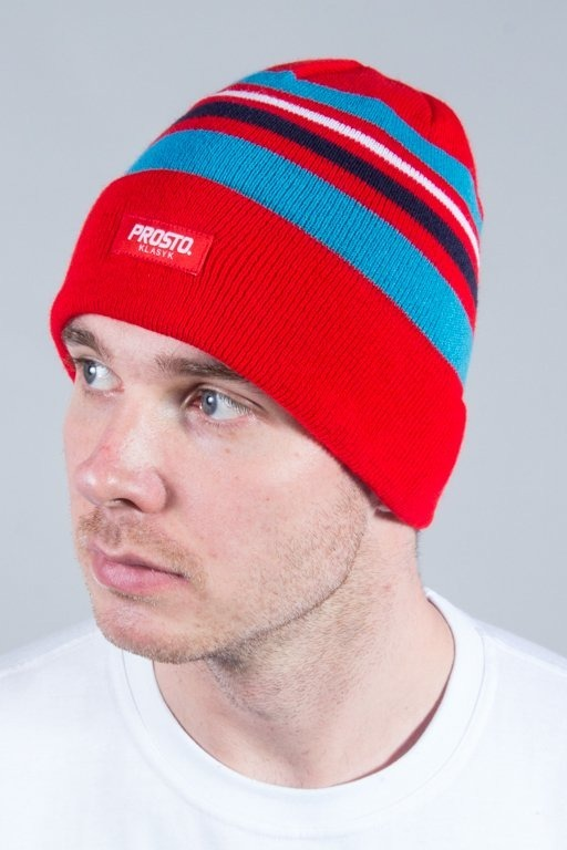PROSTO WINTER CAP OFFLINE RED