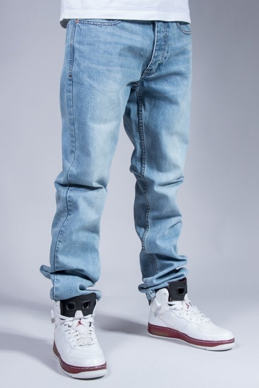 ROCAWEAR JEANS LOGO LIGHTER WASH