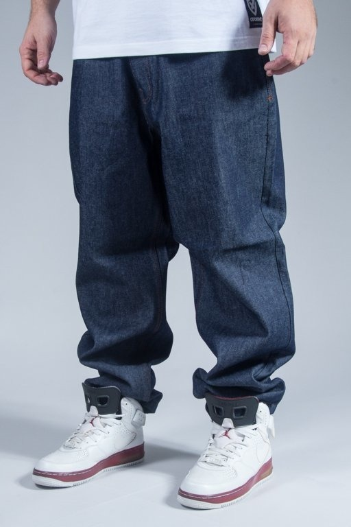 ROCAWEAR PANTS JEANS BAGGY FIT RAW INDIGO