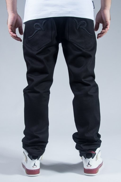 ROCAWEAR PANTS JEANS RELAXED FIT BLACK