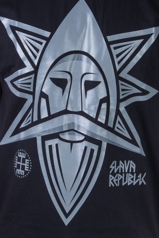SLAVA REPUBLIC T-SHIRT PERUN BLACK