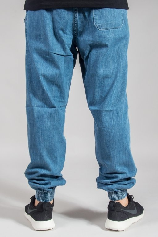 SS PANTS JEANS JOGGER REGULAR Z GUMĄ TAG LIGHT
