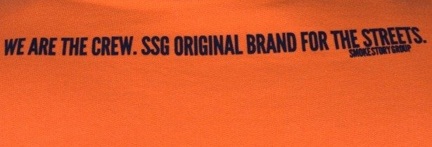 SSG BLUZA BEZ KAPTURA BIG G ORANGE