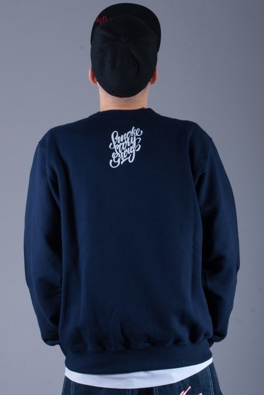 SSG BLUZA BEZ KAPTURA CALIGRAPHY NAVY BLUE