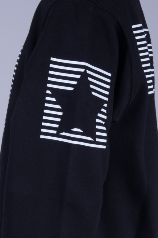 SSG BLUZA BEZ KAPTURA S-STRIPES BLACK