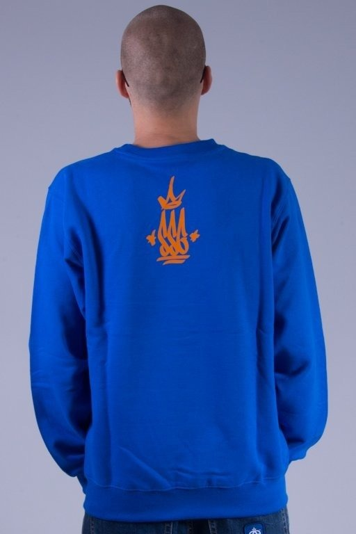 SSG BLUZA BEZ KAPTURA SSG KING BLUE