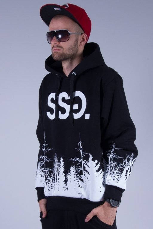 SSG BLUZA Z KAPTUREM FOREST BLACK