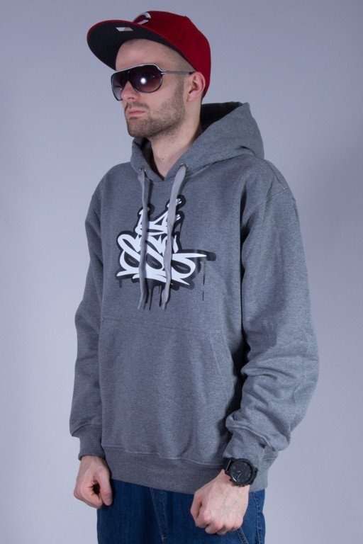 SSG BLUZA Z KAPTUREM KING TAG GREY