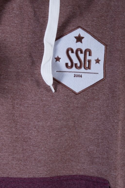 SSG BLUZA  ZKAPTUREM LOG BROWN-BRICK