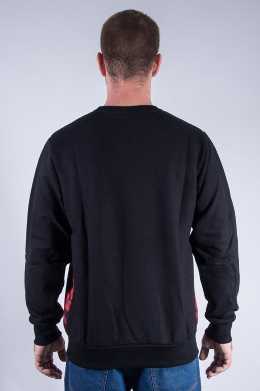 SSG CREWNECK FRONT PLANT 08 BLACK-RED