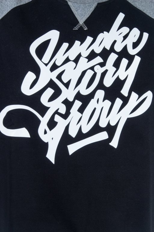 SSG CREWNECK HOCKEY BLACK-GREY