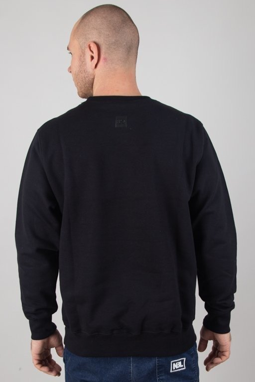 SSG CREWNECK OUTLINE COLORS BLACK