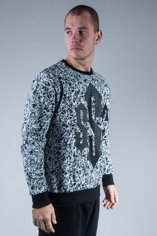 SSG CREWNECK PREMIUM DAMAGE BLACK