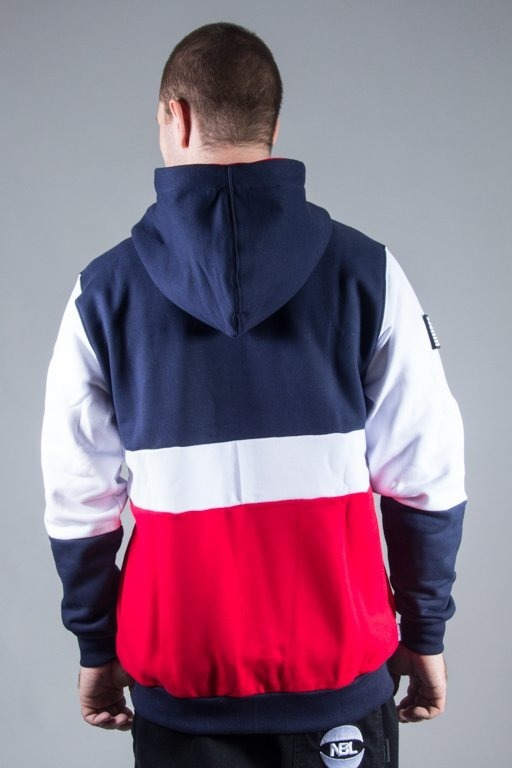 SSG HOODIE ZIP DOUBLE NAVY-WHITE