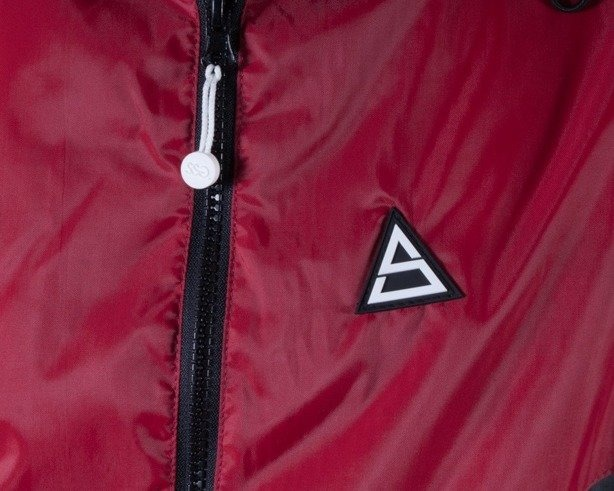 SSG KURTKA WIATRÓWKA TRIANGLE BLACK-RED