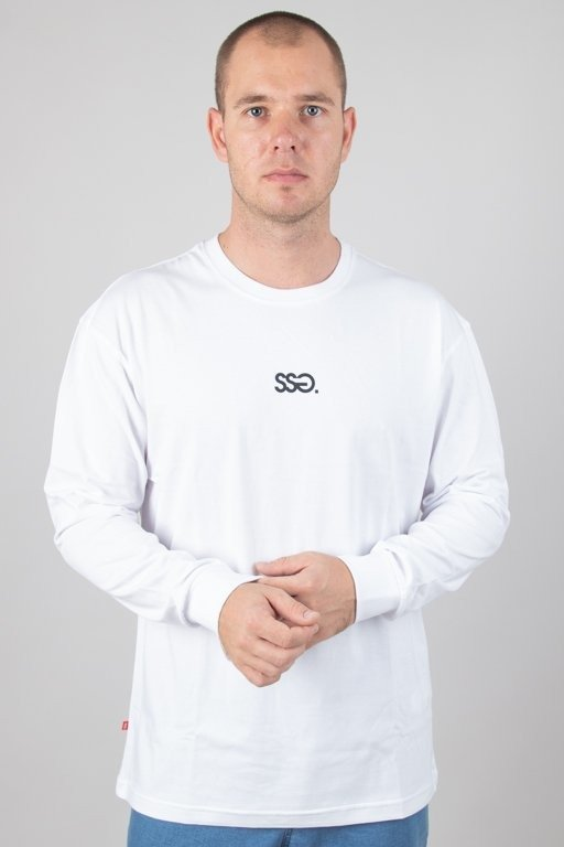 SSG LONGSLEEVE SMALL CLASSIC WHITE