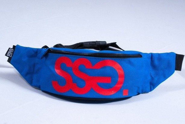 SSG SASZETKA DOT BLUE-RED