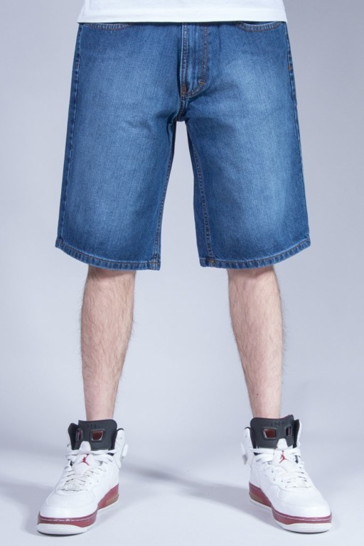 SSG SHORTS JEANS WYCIERANE MEDIUM