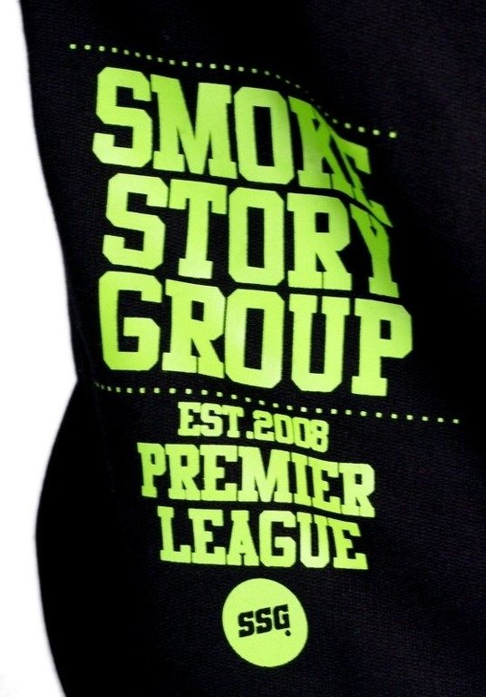 SSG SMOKE STORY BLUZA ARMY BLACK-GREEN