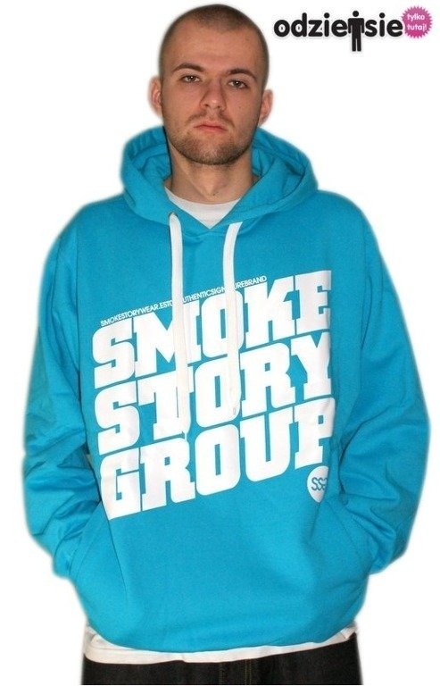 SSG SMOKE STORY BLUZA SM GROUP BLUE
