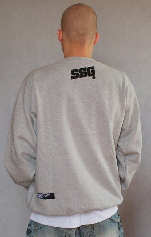 SSG SMOKE STORY BLUZA SM GROUP GREY