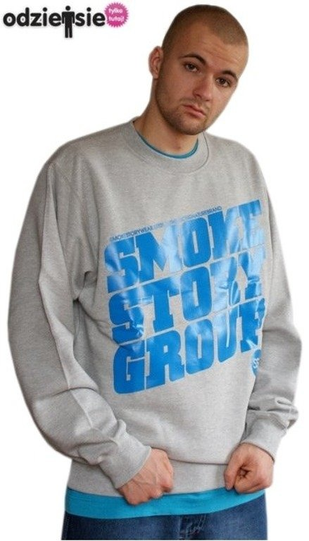SSG SMOKE STORY BLUZA SM GROUP GREY-BLUE