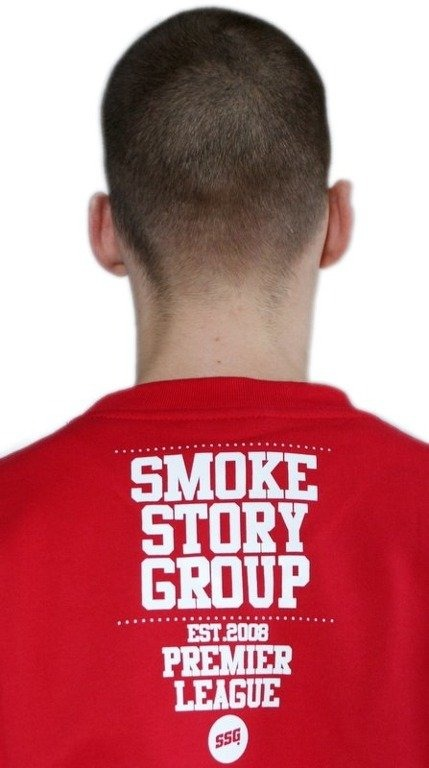 SSG SMOKE STORY GROUP BLUZA BASEBALL RED