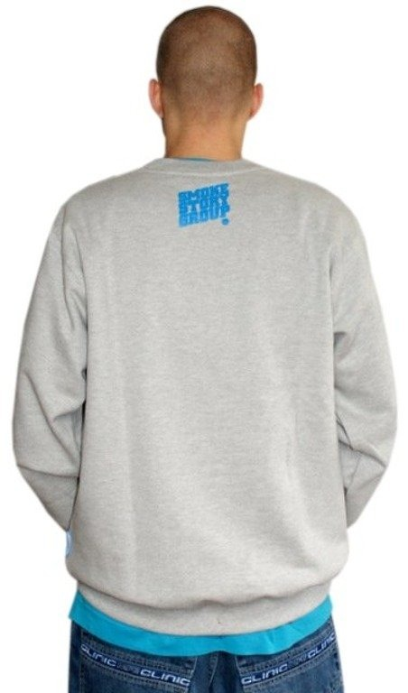 SSG SMOKE STORY GROUP BLUZA BIG GREY-BLUE