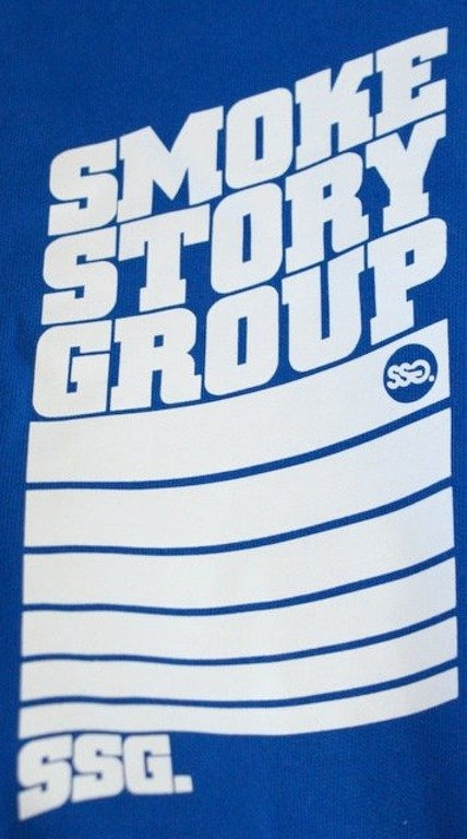 SSG SMOKE STORY GROUP BLUZA STRIPS BLUE