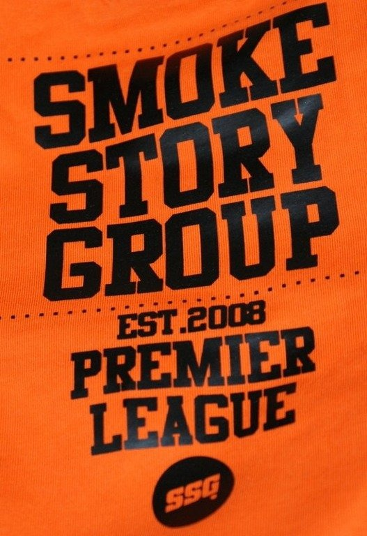 SSG SMOKE STORY GROUP KOSZULKA BASEBALL ORANGE