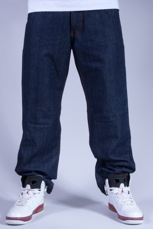 SSG SPODNIE JEANS REGULAR CITY DARK