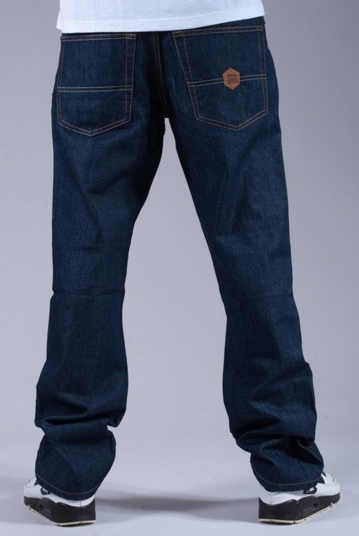 SSG SPODNIE JEANS SLIM SMALL SKIN DARK BLUE