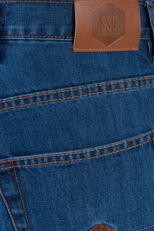 SSG SPODNIE JEANS SLIM SMALL SKIN LIGHT BLUE