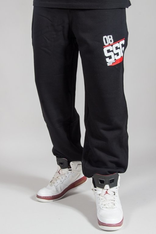 SSG SWEATPANTS BAGGY DOTS SSG BLACK