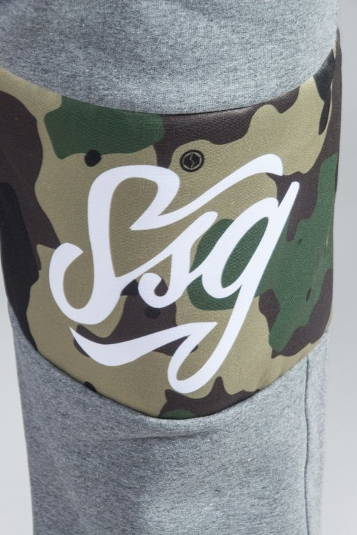 SSG SWEATPANTS MORO LINE GREY