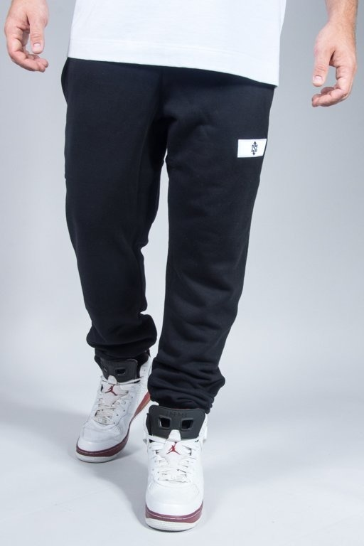 SSG SWEATPANTS SLIM SIGN BLACK