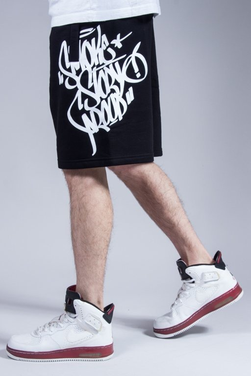 SSG SWEATSHORTS TAG BLACK