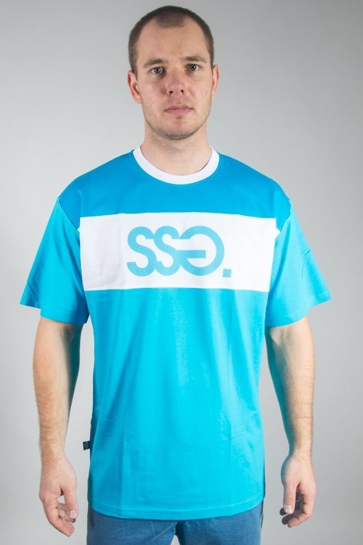 SSG T-SHIRT PREMIUM TRIPLE COLORS TURQUOISE